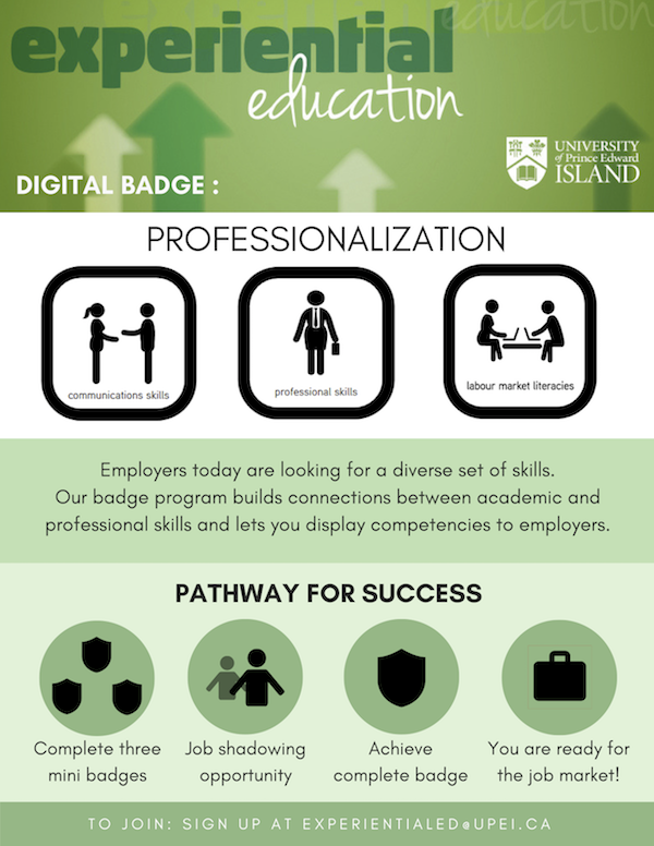 digital badge infographic